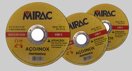 Disco de aço 115mm